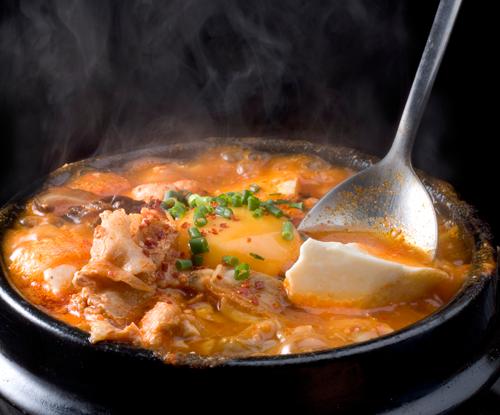 コクのあるスープ